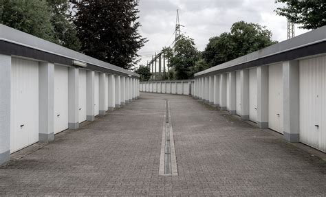 Garagenhof Foto & Bild  Architektur, Dortmund, Garagen