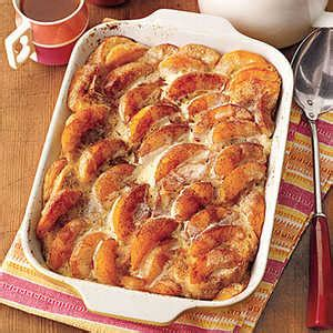 Overnight Peaches Cream French Toast Recipe