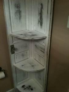 Meuble Fait Maison : meuble d 39 angle fait de vieilles portes par ~ Voncanada.com Idées de Décoration