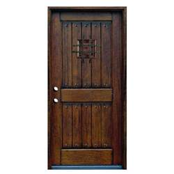 home depot solid interior door door 36 in x 80 in rustic mahogany type stained