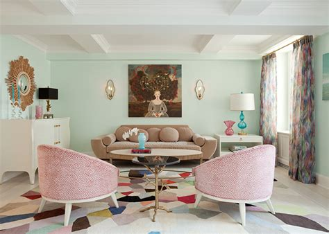Pastel Toned Living Room