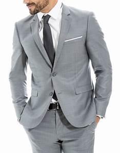 Costume Mariage Homme Gris : veste de costume brice lookbook pinterest veste de costume costumes et vestes ~ Mglfilm.com Idées de Décoration