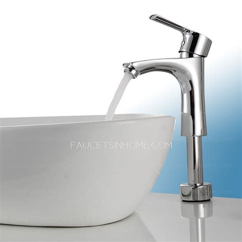 vessel sink and faucet inexpensive elevating brass bathroom faucets for vessel sinks