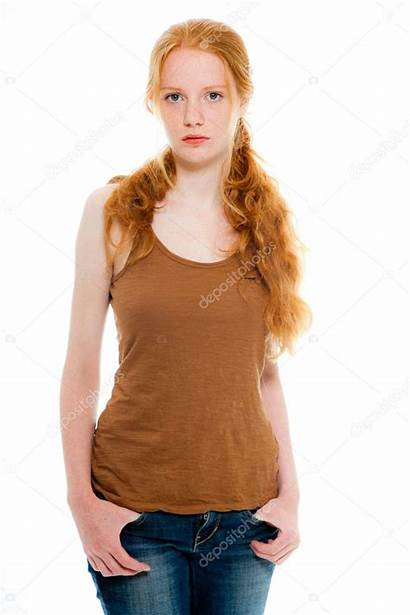 Pretty Hair Jeans Brown Natural Wearing Shirt
