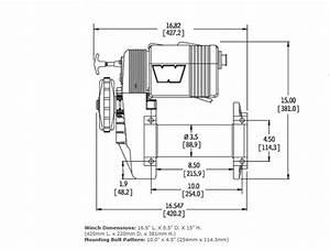 Warn Winch Model 8274 Wiring Diagram