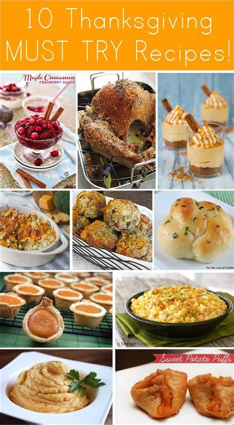 With christmas just around the corner, it's time to start thinking about the perfect christmas dinner this year. 10 Amazing Thanksgiving Recipes - Thanksgiving Dinner Ideas