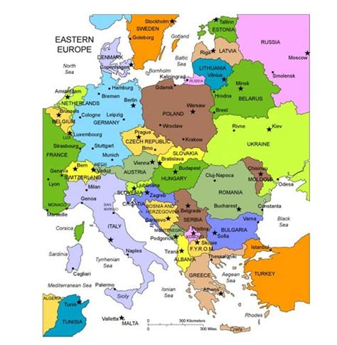 Carte Europe De L Est carte de l europe r 233 gional departement