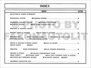 1981 Mazda Glc Sedan And Hatchback Wiring Diagram Manual