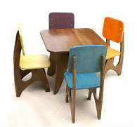 Modern Child Table And Chair Set by Modern Child Table Set 4 Chair Option