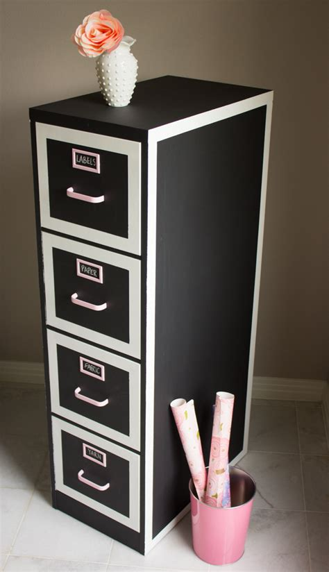 how to dress up a metal file cabinet file cabinet makeover design improvised