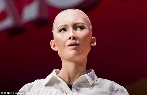 Humanoid Robot Sophia Claims She Wants To Start A Family