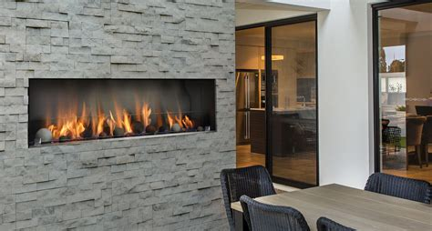 Linear Fireplaces  Barbara Jean Collection