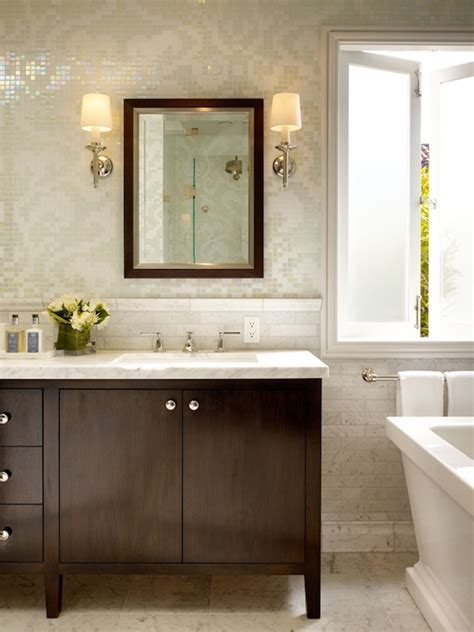 Damask Tiles   Transitional   bathroom   Artistic Designs