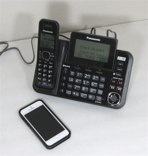 panasonic kx tg9541 cordless phone with link to cell review the gadgeteer