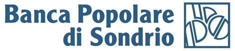 banca popolare  sondrio logo vector icon template
