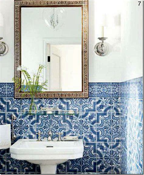 sikes  griffins powder room tiling  key greek