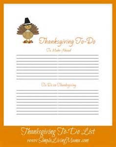 free printable thanksgiving menu planner simple living