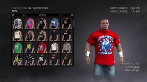 WWE 2K17 John Cena NEVER GIVE UP CENATION 2017 White Shirt ...