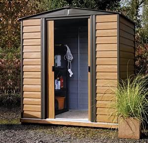 Abri De Jardin Arrow : abri de jardin arrow wr65 acier galvanis 2 5 m2 imitation ~ Dailycaller-alerts.com Idées de Décoration