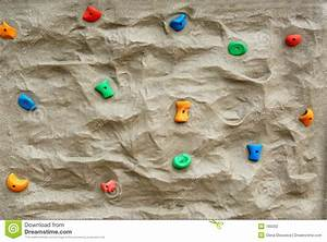 Rock climbing wall stock photo. Image of exercise ...