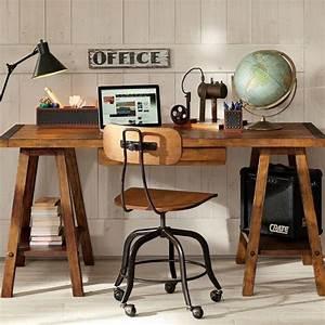 Sawhorse desk design ideas – a chic and simple desk ...