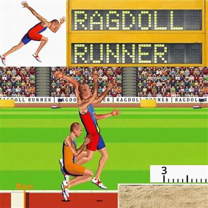 Ragdoll Runner Runners Giphy Gifs Games Embed
