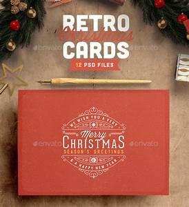25 cool psd christmas card templates web graphic design bashooka for Christmas card psd