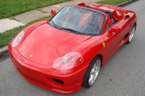 Mini-me Ferrari 360 Modena Spider Based On The Toyota Mr2