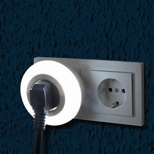 Nachtlicht Mit Steckdose : zwischenstecker mit led nachtlicht rund nl r2 47166 mit ~ Watch28wear.com Haus und Dekorationen