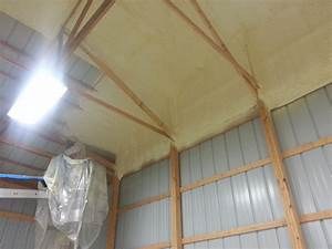 spray insulation archives With cheap pole barn insulation
