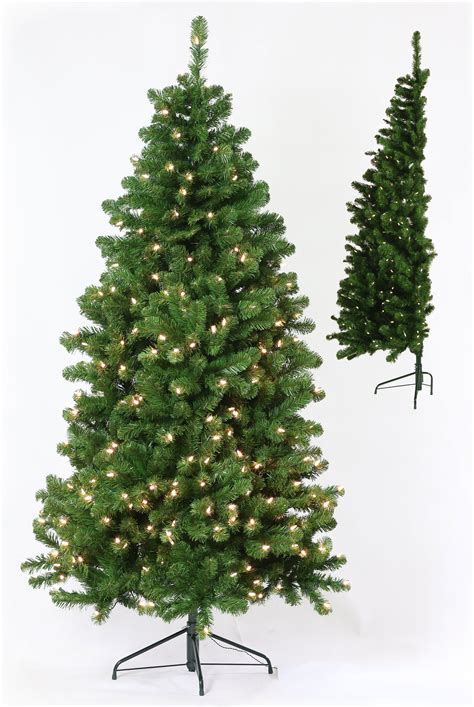 the half tree artificial christmas trees