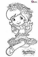 Shortcake Strawberry Coloring Printable Sheets Colouring Cartoon Princess Bubakids Coloriage Dessin Characters Dn Printables Coloringpagebase Disney Pets Colorier Adult Strawberries sketch template