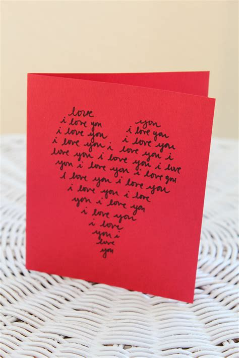 Ideas to Make Valentine Day Cards