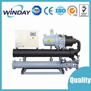China Rotary Screw Water Chiller Manual Operation Of