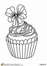 Coloring Cupcake Pages Adult Cupcakes Drawing Sheets Google Colouring Colorir Food Outline sketch template