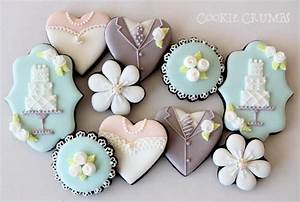 wedding themed chocolate cookies with royal icing wedding With decorated sugar cookies for weddings