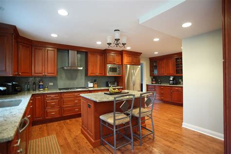 cherry wood kitchen cabinets cherry wood kitchen cabinets kitchen traditional with back 7676