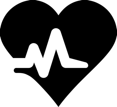 Heartbeat Svg Png Icon Free Download (#425820 ...