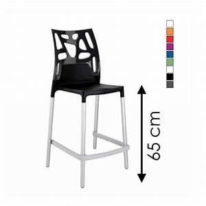 Tabouret De Bar Hauteur 65 Cm : chaise de bar hauteur assise 65 cm design en image ~ Teatrodelosmanantiales.com Idées de Décoration