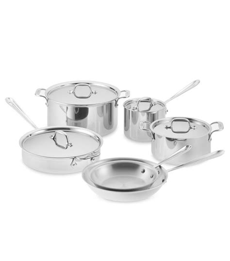 clad pots pans pot cookware pan stainless steel piece ply tri chefs mydomaine nyc posts
