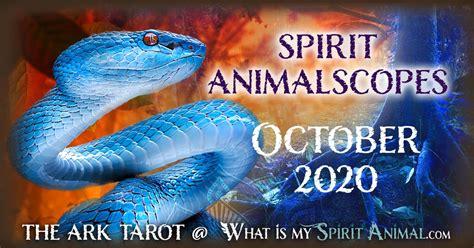 spirit animalscopes  october     spirit
