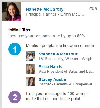 linkedin inmail templates how to use paid linkedin inmail to reach target customers marketing for small business
