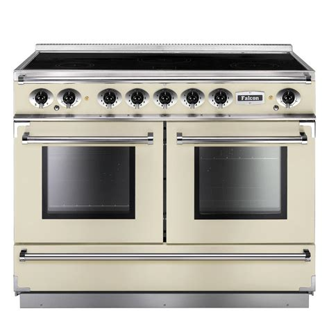 falcon range cooker falcon range cookers 1092 continental induction range cooker fcon1092eiiv c eu ivory with