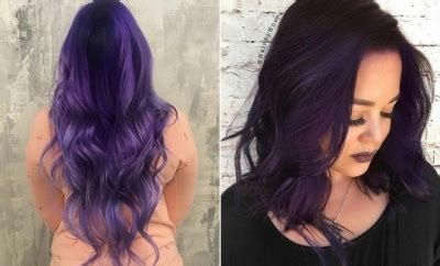 bold  trendy dark purple hair color ideas stayglam