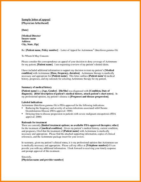 template appeal letter appeal letter