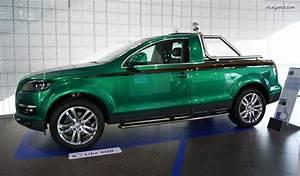 Pick Up Audi : audi q7 pick up green duck de 2007 un v hicule unique fait par des apprentis audi ~ Melissatoandfro.com Idées de Décoration