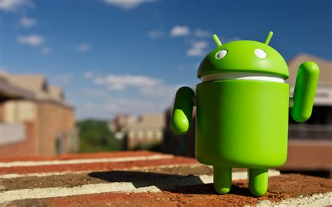 What is Google's Android mascot unofficially known as?
