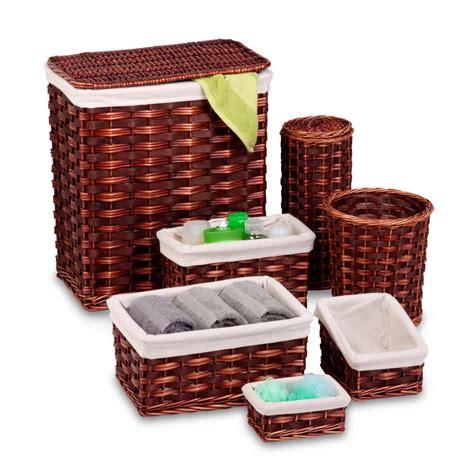 Honeycando Wicker Hamper Kit (7piece)hmp01866 The