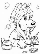 Coloring Puppies Pound Puppy Colouring Printable Sheets Dog Disney Printables Adult sketch template