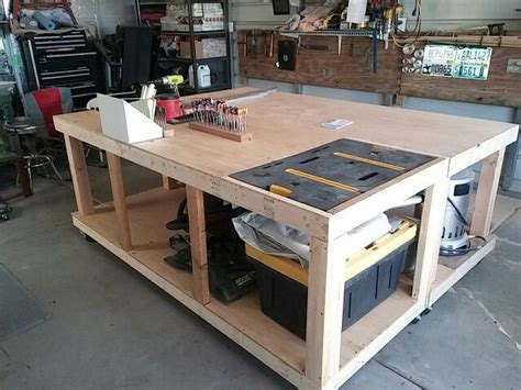workbenches hinged   work area  layout